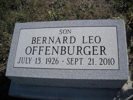 OFFENBURGER, BERNARD LEO - Lucas County, Iowa   BERNARD LEO OFFENBURGER