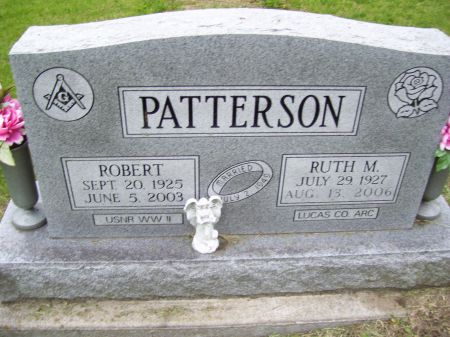 PATTERSON, RUTH M. - Lucas County, Iowa | RUTH M. PATTERSON