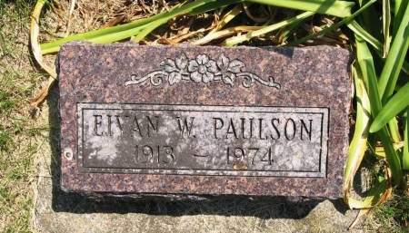 PAULSON, EIVAN W - Lucas County, Iowa | EIVAN W PAULSON