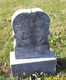 PAVLIK, ZUZANNA M. - Lucas County, Iowa   ZUZANNA M. PAVLIK