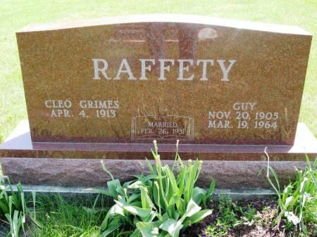 RAFFETY, CLEO - Lucas County, Iowa | CLEO RAFFETY