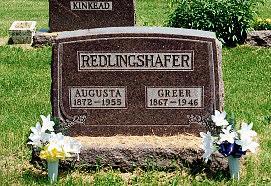 ARNOLD REDLINGSHAFER, AUGUSTA - Lucas County, Iowa | AUGUSTA ARNOLD REDLINGSHAFER