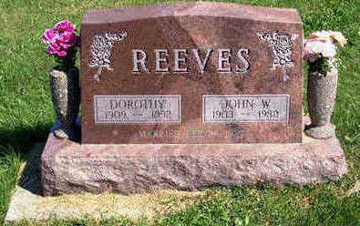 VICKROY REEVES, DOROTHY - Lucas County, Iowa | DOROTHY VICKROY REEVES