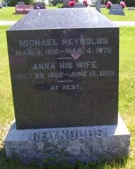REYNOLDS, ANNA - Lucas County, Iowa   ANNA REYNOLDS