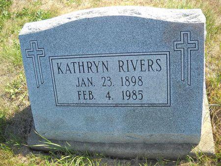 MORRISSEY RIVERS, KATHRYN - Lucas County, Iowa | KATHRYN MORRISSEY RIVERS