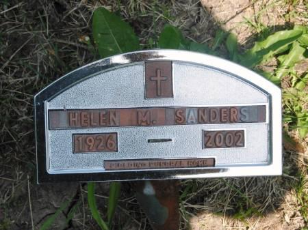 SANDERS, HELEN M - Lucas County, Iowa | HELEN M SANDERS