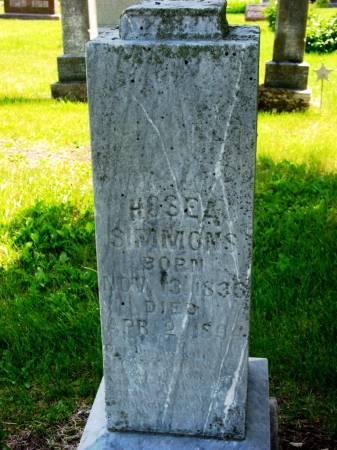 SIMMONS, HOSEA - Lucas County, Iowa | HOSEA SIMMONS