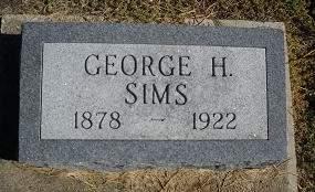 SIMS, GEORGE H - Lucas County, Iowa | GEORGE H SIMS