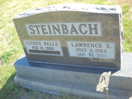 MILLER STEINBACH, ESTHER BELLE - Lucas County, Iowa   ESTHER BELLE MILLER STEINBACH