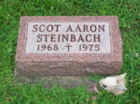STEINBACH, SCOT AARON - Lucas County, Iowa   SCOT AARON STEINBACH
