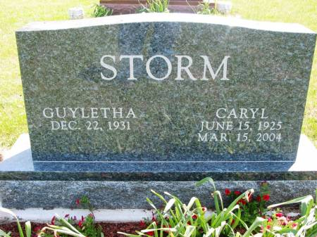 STORM, CARYL - Lucas County, Iowa | CARYL STORM