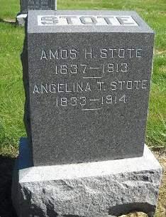 STOTE, ANGELINA T - Lucas County, Iowa | ANGELINA T STOTE