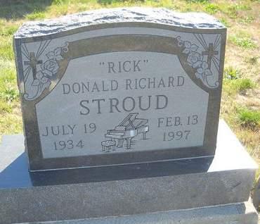 STROUD, DONALD RICHARD 'RICK