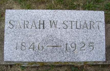 STUART, SARAH W. - Lucas County, Iowa | SARAH W. STUART