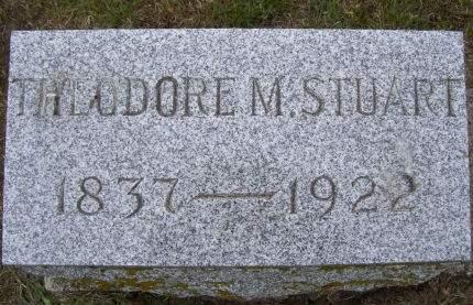 STUART, THEODORE M. - Lucas County, Iowa   THEODORE M. STUART