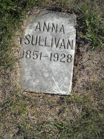 SULLIVAN, ANNA - Lucas County, Iowa | ANNA SULLIVAN