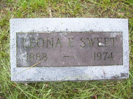 SWEET, LEONA E. - Lucas County, Iowa | LEONA E. SWEET