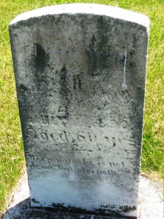 UMBENHOWER, ELIZA JANE - Lucas County, Iowa | ELIZA JANE UMBENHOWER