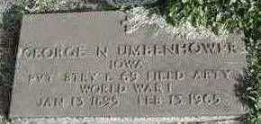 UMBENHOWER, GEORGE - Lucas County, Iowa | GEORGE UMBENHOWER