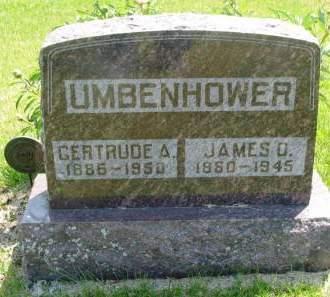 UMBENHOWER, JAMES O - Lucas County, Iowa | JAMES O UMBENHOWER