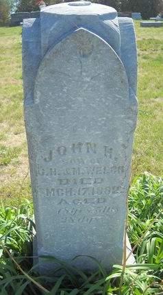 WELCH, JOHN H - Lucas County, Iowa | JOHN H WELCH