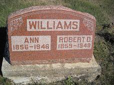 WILLIAMS, ROBERT D - Lucas County, Iowa   ROBERT D WILLIAMS