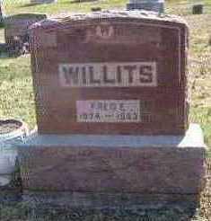 WILLITS, FREDERICK E - Lucas County, Iowa | FREDERICK E WILLITS