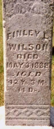 WILSON, FINLEY LEONARD - Lucas County, Iowa | FINLEY LEONARD WILSON