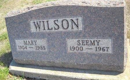 BALOSKY WILSON, MARY - Lucas County, Iowa | MARY BALOSKY WILSON