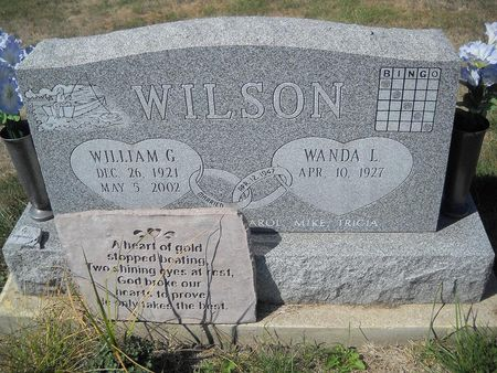 UNDERATION WILSON, WANDA L - Lucas County, Iowa | WANDA L UNDERATION WILSON