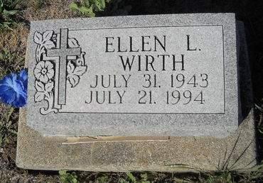 WIRTH, ELLEN L - Lucas County, Iowa   ELLEN L WIRTH