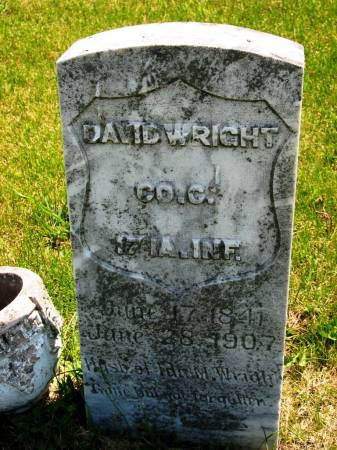 WRIGHT, DAVID - Lucas County, Iowa | DAVID WRIGHT