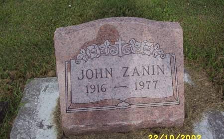 ZANIN, JOHN - Lucas County, Iowa | JOHN ZANIN