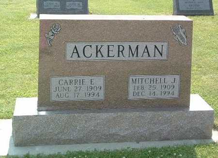ACKERMAN, CARRIE E. - Lyon County, Iowa | CARRIE E. ACKERMAN