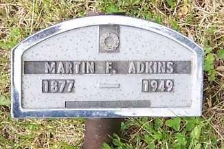 ADKINS, MARTIN F. - Lyon County, Iowa | MARTIN F. ADKINS