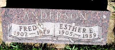 ANDERSON, ESTHER E. - Lyon County, Iowa | ESTHER E. ANDERSON