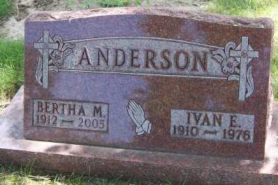 ANDERSON, IVAN E. - Lyon County, Iowa | IVAN E. ANDERSON