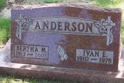 ANDERSON, BERTHA M. - Lyon County, Iowa | BERTHA M. ANDERSON