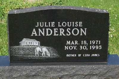 ANDERSON, JULIE LOUISE - Lyon County, Iowa | JULIE LOUISE ANDERSON