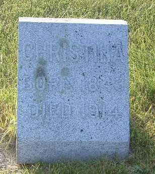 APPLE, CHRISTINA - Lyon County, Iowa | CHRISTINA APPLE