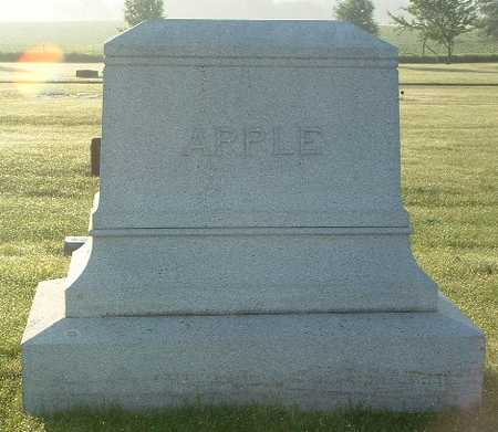 APPLE, FAMILY HEADSTONE - Lyon County, Iowa | FAMILY HEADSTONE APPLE