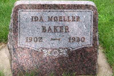 BAKER, IDA - Lyon County, Iowa | IDA BAKER
