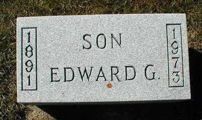 BARTELS, EDWARD - Lyon County, Iowa   EDWARD BARTELS