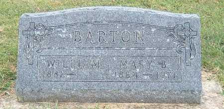 BARTON, WILLIAM - Lyon County, Iowa   WILLIAM BARTON