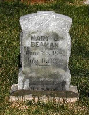 BEAMAN, MARY J - Lyon County, Iowa | MARY J BEAMAN