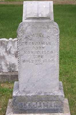 BENJAMAN, SAMUEL G. - Lyon County, Iowa | SAMUEL G. BENJAMAN