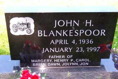 BLANKESPOOR, JOHN H. - Lyon County, Iowa | JOHN H. BLANKESPOOR