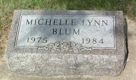 BLUM, MICHELLE LYNN - Lyon County, Iowa   MICHELLE LYNN BLUM