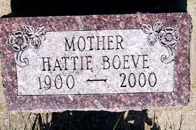 BOEVE, HATTIE - Lyon County, Iowa | HATTIE BOEVE