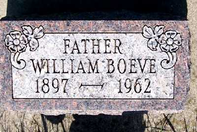 BOEVE, WILLIAM - Lyon County, Iowa | WILLIAM BOEVE